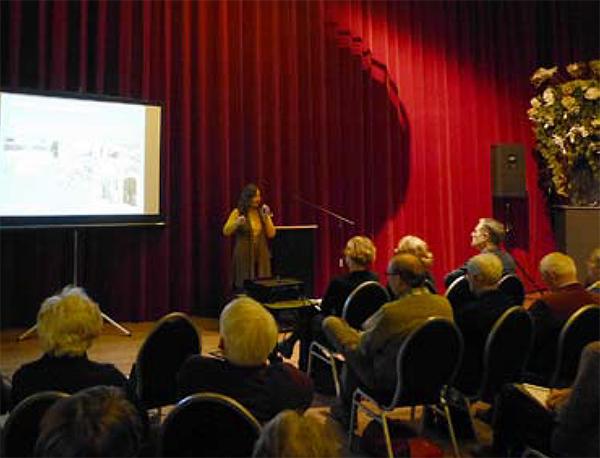 Margaret Hop spreekt over 'Planten voor natte locaties'