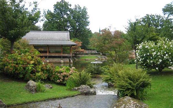 De Japanse tuin in Hasselt