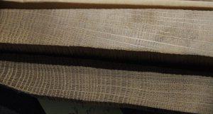De houtmonsters met het unieke patroon van jaarringen